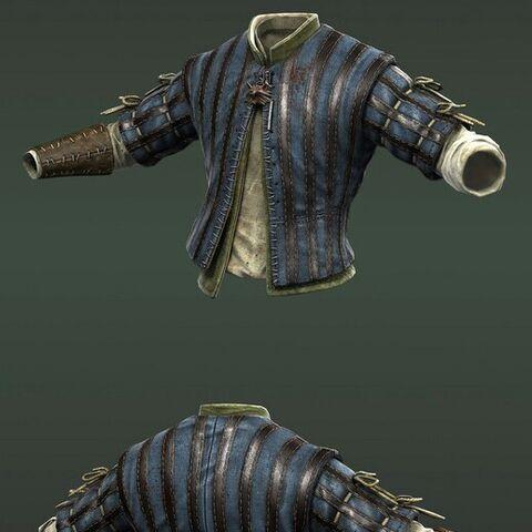 Обычная кожаная куртка
