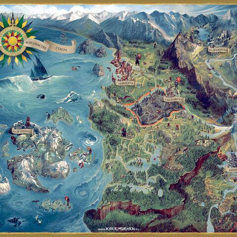Карта дельты Понтара изданная Фабио в 1275 году.