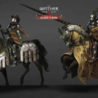 Странствующие рыцари, концепт-арт