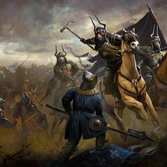 Солдаты Наузикаа сражаются с темерскими солдатами