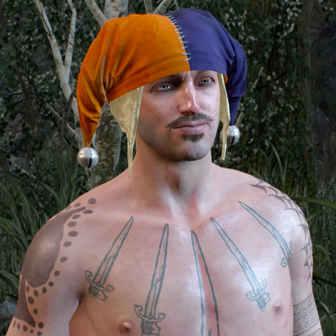 Давид в своей шапке