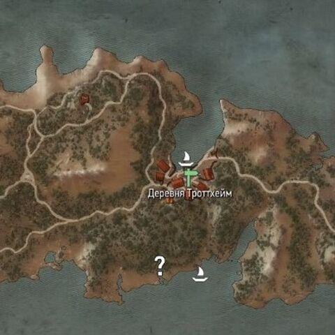 Троттхейм на карте