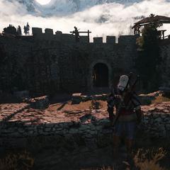 Верхний двор крепости