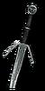 Ведьмачий серебряный меч
