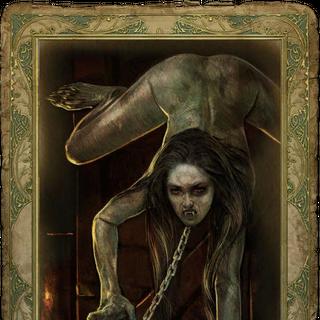 Секс-карточка с Королевой Ночи
