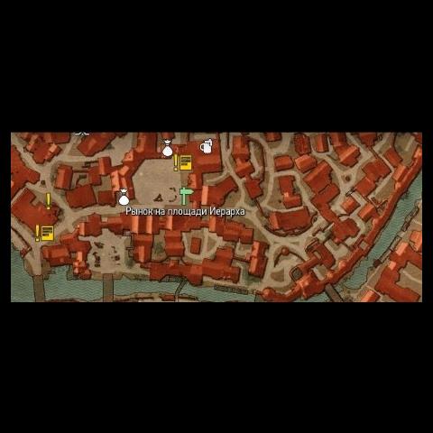 Площадь Иерарха на карте