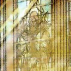 Изображение пророка Лебеды на фреске