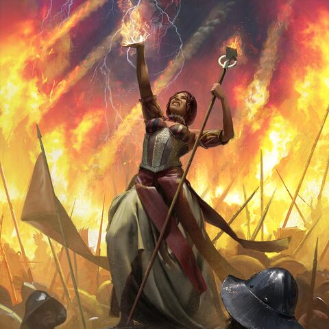 Сабрина использует Огонь Мелгара, <i><a href=