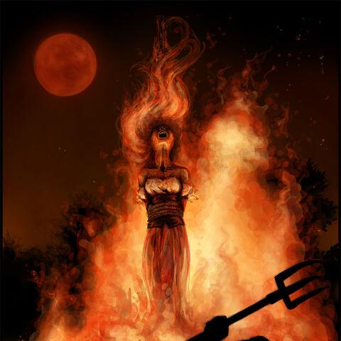 Сожжение Фальки, рисунок <a rel=