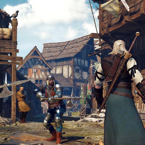 Стражники, вооруженные алебардами, в третьей части игры