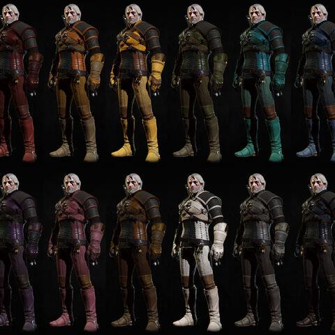 Внешний вид комплекта Школы Змеи с применёнными красками