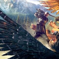 Геральт, арт для игры «Ведьмак 3: Дикая Охота»