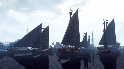 Нильфгаардский флот В3