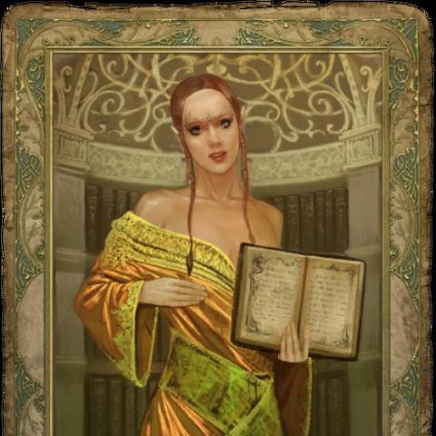 Секс-карточка с полуэльфийкой,