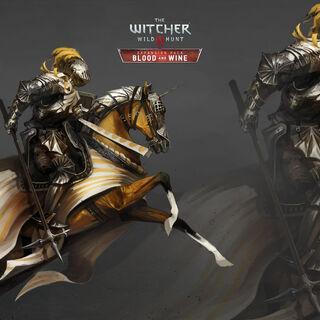 Туссентский рыцарь, концепт-арт