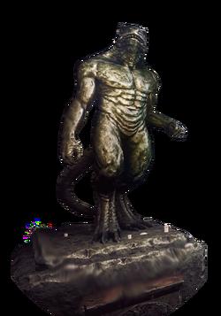 Vran statue
