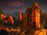 Руины замка Амавет