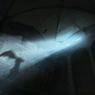 Тюрьма ночью