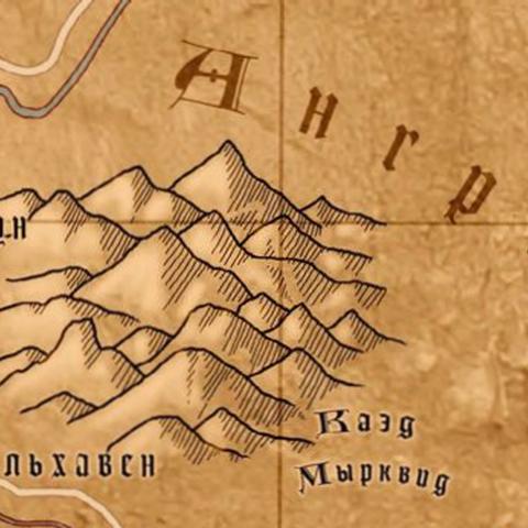 Карта Ангрена