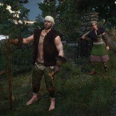 Топорник и щитница клана Димунов