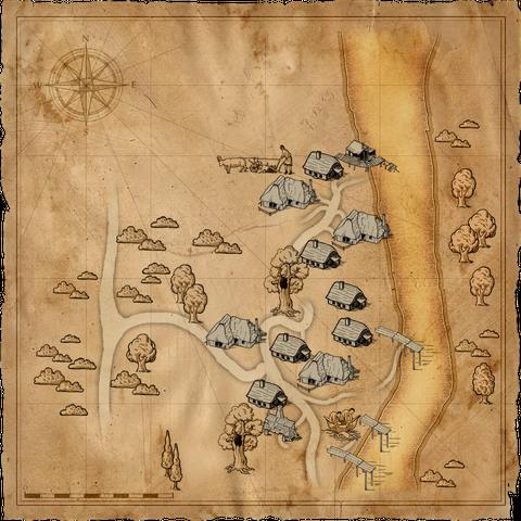 Карта деревни