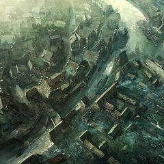 Общий вид города