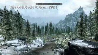 Открытый мир игры Ведьмак 3