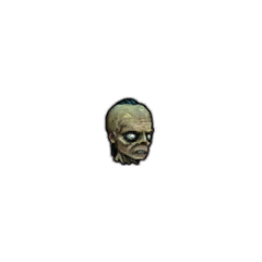 Голова Надира в снаряжении