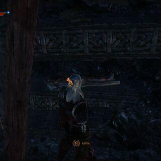 Местонахождение меча во второй части игры
