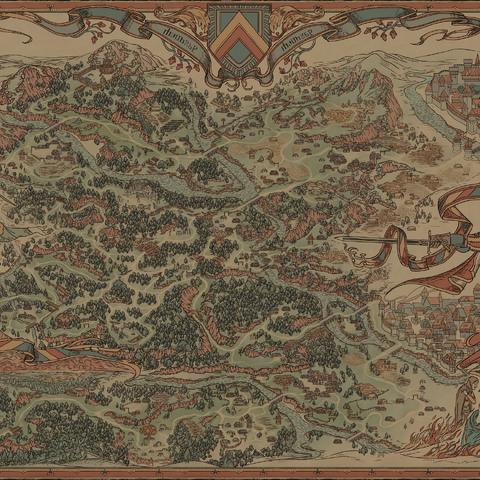 Карта окрестностей Альдерсберга, <i><a href=