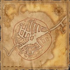 Карта Старой Вызимы