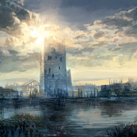 Концепт-арт башни