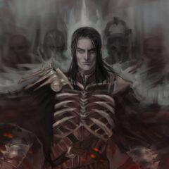 Король Дикой Охоты, фан-арт