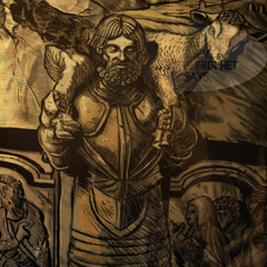 Могила Антона Бородатого в склепе под часовней