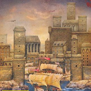 Новиград на обложке журнала «Белый Волк»