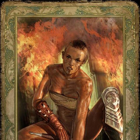 Секс-карточка с Райлой, «цензурная версия»
