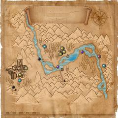 Карта Долины Каэр Морхена