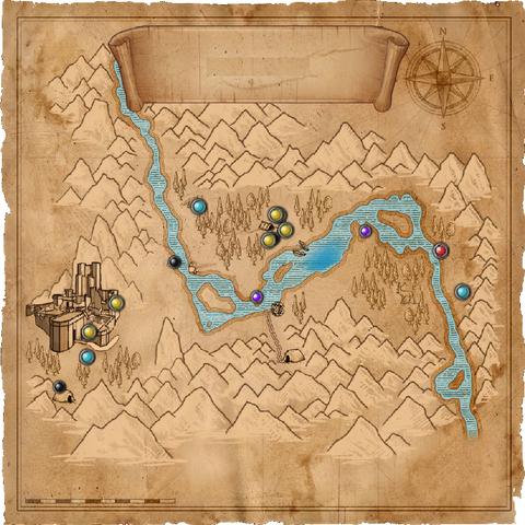 Карта долины в дополнении Цена нейтралитета