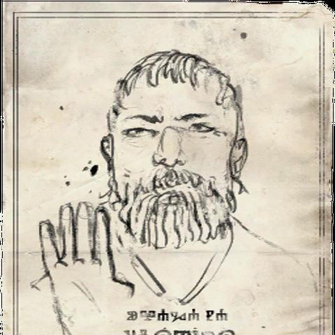 Плакат о розыске Филиберта