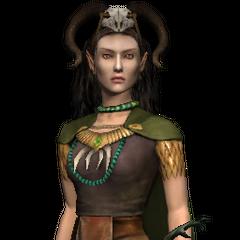 Эльфийская волшебница