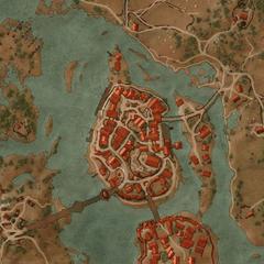 Карта Оксенфурта