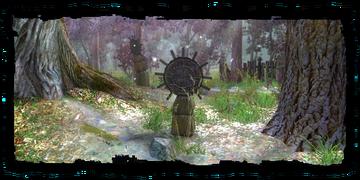 Places Druids Grove monument