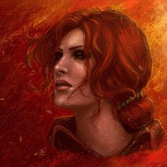 Трисс Меригольд, рисунок <a rel=