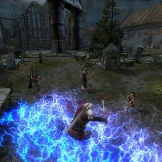 Бой с ведьмами