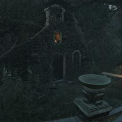 Вход в склеп