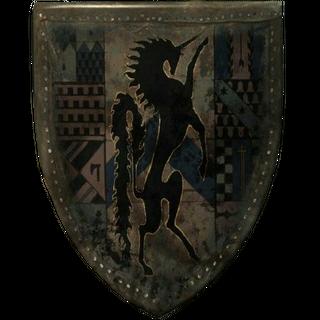 Древний щит Каэдвена (вероятно, был вырезан)