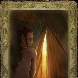Секс-карточка с эльфийкой