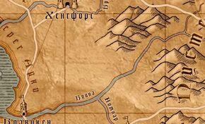 Буина на карте