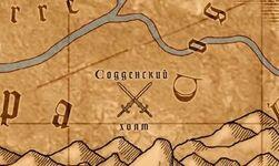 Содденский холм на карте