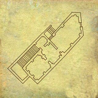 Карта дома Филиппы в Лок Муинне